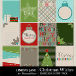 Christmas Wishes LJ Journal Cards Pack-$1.99 (Lindsay Jane)