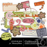 Girlfriends Embellishment Pack-$3.00 (Julie Klaus)