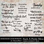 Such A Pretty Mess Word Art Pack-$4.99 (Laura Burger)