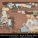 Such A Pretty Mess Border Pack-$4.99 (Laura Burger)