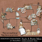 Such A Pretty Mess Frame Clusters Pack-$4.99 (Laura Burger)