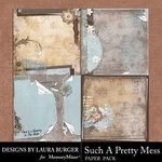 Such A Pretty Mess Stacked Paper Pack-$4.99 (Laura Burger)