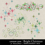 Bright Christmas Scatterz Pack-$1.99 (Lindsay Jane)