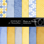 Rain or Shine Paper Pack-$3.49 (Julie Klaus)