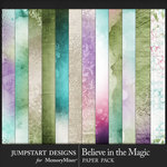 Believe in the Magic Blended Paper Pack-$3.99 (Jumpstart Designs)