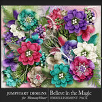 Believe in the Magic Blooms Pack-$4.99 (Jumpstart Designs)