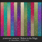 Believe in the Magic Ombre Paper Pack-$3.99 (Jumpstart Designs)