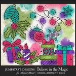 Believe in the Magic Sparkle Decor Pack-$3.99 (Jumpstart Designs)