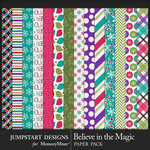 Believe in the Magic Patterned Paper Pack-$3.99 (Jumpstart Designs)