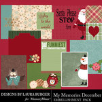 My Memories December Pocket Pieces-$3.99 (Laura Burger)