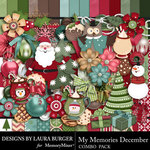 My Memories December Combo Pack-$7.99 (Laura Burger)