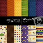 Wonderful World Paper Pack-$3.50 (Melissa Nuttall)