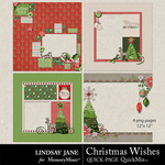 Christmas Wishes LJ QuickPages-$2.99 (Lindsay Jane)
