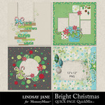 Bright Christmas QuickPages-$2.99 (Lindsay Jane)