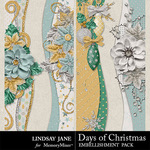 Days of Christmas Borders Pack-$1.99 (Lindsay Jane)