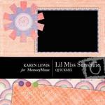 Lil Miss Sunshine QuickMix-$4.99 (Karen Lewis)