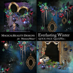 Everlasting Winter QuickPage 2-$4.99 (MagicalReality Designs)