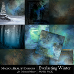 Everlasting Winter Paper Pack 2-$4.99 (MagicalReality Designs)