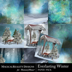 Everlasting Winter Paper Pack 1-$2.50 (MagicalReality Designs)