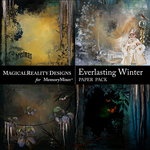 Everlasting Winter Scenes Paper-$4.99 (MagicalReality Designs)