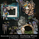 Everlasting Winter Cluster Pack 3-$1.75 (MagicalReality Designs)