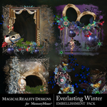 Everlasting Winter Cluster Pack 2-$3.49 (MagicalReality Designs)