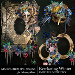 Everlasting Winter Cluster Pack 1-$3.49 (MagicalReality Designs)