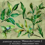 Watercolor Leaves 2-$4.99 (Jumpstart Designs)