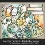 Blissful Beginnings Doodle Bits Pack-$3.99 (Jumpstart Designs)