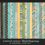 Blissful Beginnings Paper Pack-$3.99 (Jumpstart Designs)