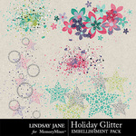 Holiday Glitter Scatterz Pack-$1.40 (Lindsay Jane)