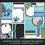 Jumpstart Your January 2017 Journal Bits-$3.99 (Jumpstart Designs)