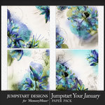 Jumpstart Your January 2017 Artful Papers-$3.99 (Jumpstart Designs)