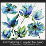 Jumpstart Your January 2017 Blooms Pack-$3.99 (Jumpstart Designs)