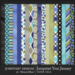 Jumpstart Your January 2017 Paper Pack-$3.99 (Jumpstart Designs)