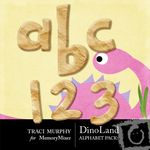 DinoLand Alphabet Pack-$1.00 (Traci Murphy)