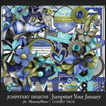 Jumpstart Your January 2017 Combo Pack-$7.99 (Jumpstart Designs)