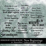 New Beginnings LB WordArt Pack-$4.99 (Laura Burger)