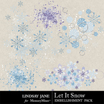 Let It Snow LJ Scatterz Pack-$1.99 (Lindsay Jane)