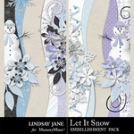 Let It Snow LJ Border Pack-$1.99 (Lindsay Jane)