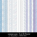 Let It Snow LJ Paper Pack-$2.49 (Lindsay Jane)