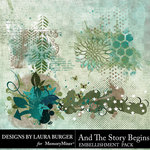 And The Story Begins LB Scatters Pack-$4.99 (Laura Burger)