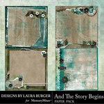 And The Story Begins LB Stacked Paper Pack-$4.99 (Laura Burger)