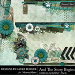 And The Story Begins LB Borders Pack-$4.99 (Laura Burger)