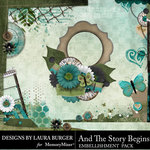 And The Story Begins LB Corner Borders Pack-$4.99 (Laura Burger)