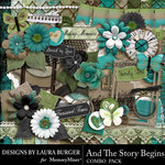 And The Story Begins LB Combo Pack-$7.99 (Laura Burger)