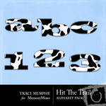 Hit The Trail Alphabet Pack-$1.00 (Traci Murphy)