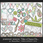 Take a Chance Doodle Art Pack-$3.99 (Jumpstart Designs)