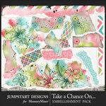 Take a Chance Torn Bits Pack-$3.99 (Jumpstart Designs)