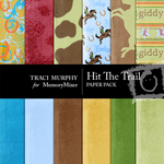 Hit The Trail Paper Pack-$3.50 (Traci Murphy)